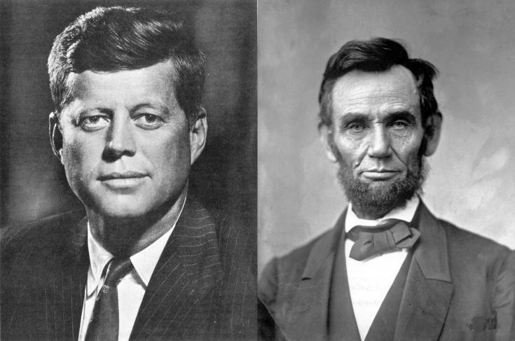 John-F_-Kennedy-e-Abraham-Lincoln